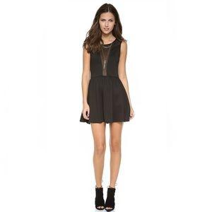 NWT For Love & Lemons Lulu Sheer Mesh Dress